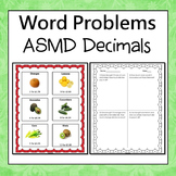Grocery Store Theme Word Problems