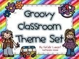 Groovy Theme Classroom Set