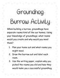 Groundhog Burrow Activity