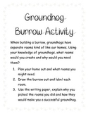 Groundhog Burrow Activity