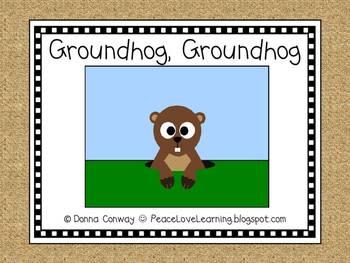 Groundhog, Groundhog - An Original Emergent Reader