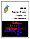 Group Author Project - Romantics and Transcendentalists