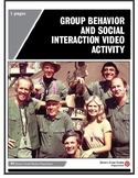 Group Behavior and Social Interaction Video Activity