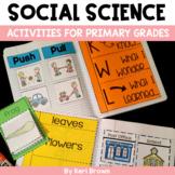 Growing BUNDLE: Kindergarten Interactive Science Notebook