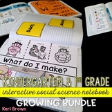 Growing BUNDLE: Kindergarten Interactive Science Notebook