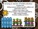 Growing a Garden of Math Activities