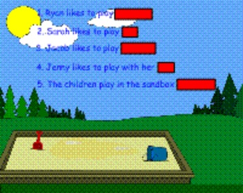 Guess The Covered Word Smartboard Activities