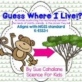 Guess Where I Live! Sorting Game: Animals, Plants & Habita