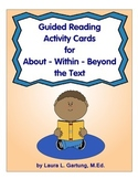 Guided Reading Activity Cards for Reading Instruction