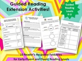 Guided Reading Extension Activities:  Early-Fluent and Flu