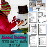 Guided Reading - Informational Text - January by Kim Adsit