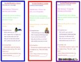 Guided Reading Lesson Cheatsheet Bookmark
