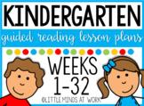 Guided Reading Kindergarten ENDLESS MEGA BUNDLE