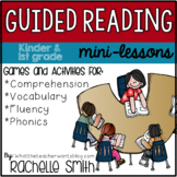Guided Reading Mini-Lessons {Activities, Resources, and Games}
