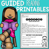Guided Reading Printables {Editable}