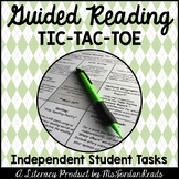 Guided Reading Tic-Tac-Toe {Student Board & Activity Packet}