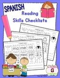Guided Reading Tools: Reading Skills Checklists (Spanish)