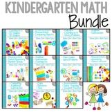 Guiding Kinders: Math Units COMPLETE BUNDLE Units 1-10