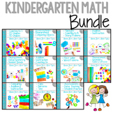 Guiding Kinders: Math Units COMPLETE BUNDLE Units 1-10