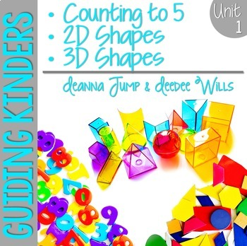 Math Guiding Kinders:  Math Workshop Unit 1 { Common Core Aligned }
