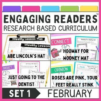 Guiding Readers: February NO PREP ELA Unit for K-1