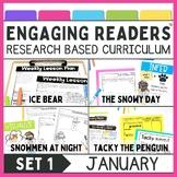 Guiding Readers: January  No Prep ELA unit for K-1