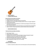 Guitar Lesson Plan Gr.12