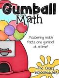 Gumball Math {Addition, Subtraction & Multiplication}