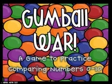 Gumball War! Comparing Numbers 0-10
