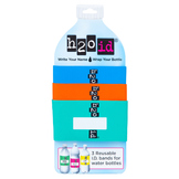 H2O ID 3 Pack Water Bottle Bands