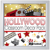 Editable Hollywood Oscars Classroom Decor Materials Pack