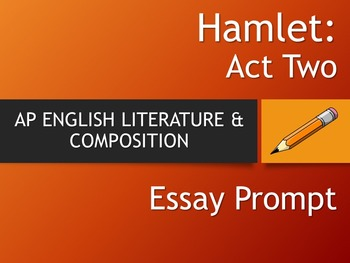 What is a good thesis statement for Hamlet's famous soliloquy