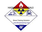 HAZMAT SAFETY OFFICER (hazardous materilas)