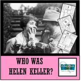 HELEN KELLER: Famous American Mini Unit
