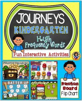HM Journeys Kindergarten High Frequency Words Fun Interact