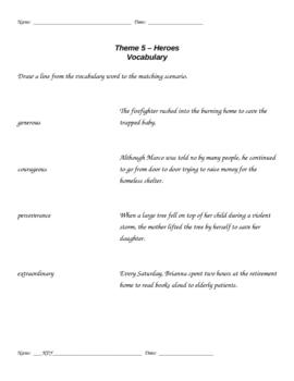 HM Theme 5 launch vocabulary assessment