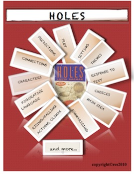 HOLES by Louis Sachar Student Worksheets