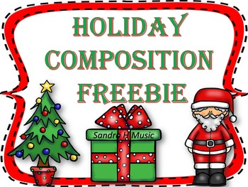 HOLIDAY COMPOSITION ACTIVITY *PRINTABLE K-3