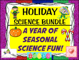 HOLIDAY SCIENCE EXPERIMENTS BUNDLE: 9+ Inquiry lessons for