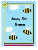 HONEY BEE THEME (folder cover, substitute cover, communica