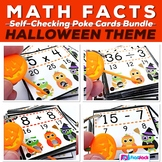 "H""OWL""oween Owl Poke MATH FACTS Pack"