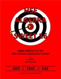 HSE Algebra Sweet 16