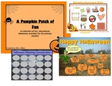 HUGE PROMETHEAN FILE OCTOBER GAMES & CENTER ACTIVITIES ~ K