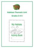 Habitats Thematic Unit (Intermediate) for Very Busy Teachers