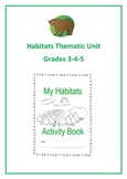 Habitats Thematic Unit (Intermediate) for Very Busy Teachers