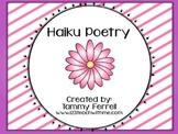 Haiku Poem Packet
