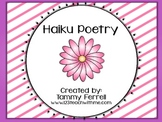 Haiku Poem Packet