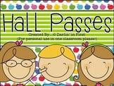 Hall Passes {Polka Dot, Chevron & Stripe Theme}
