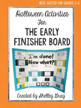 Halloween Activities {for the Early Finisher Board™}