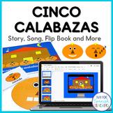 Halloween Activity Set - Cinco Calabazas {Mp3 included}